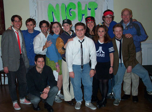 The cast and crew of the 2001 reading at Musical Mondays at the Century Center in New York.