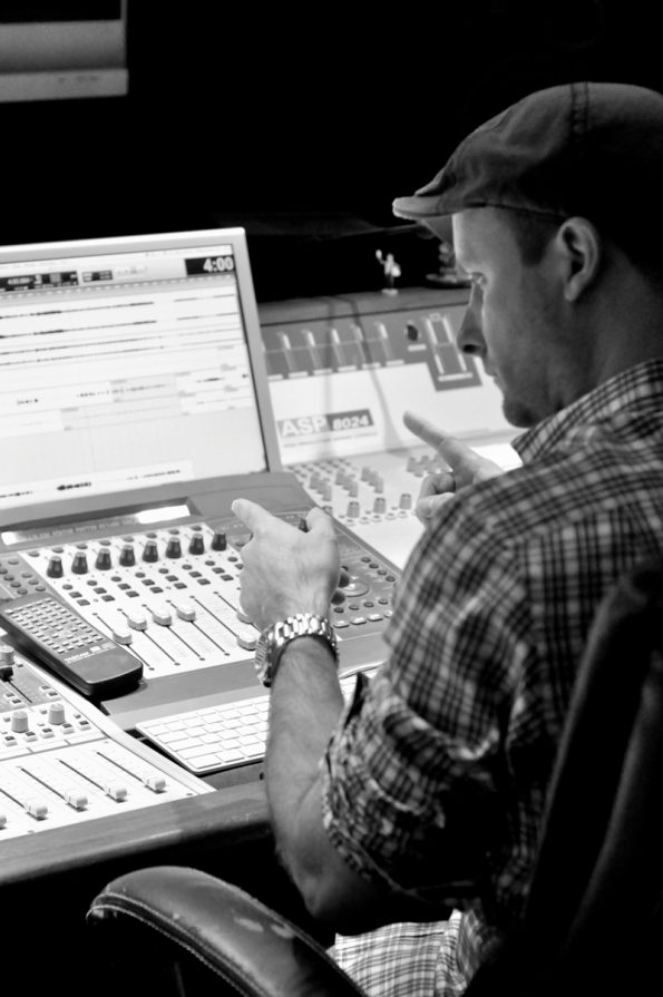 Studio Cast RADcording Producer Michael Croiter (photo by Rebecca Woodman Taylor).
